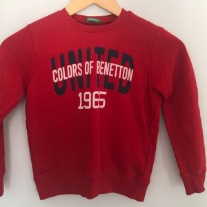 United Colors of Benetton boys sweatshirt 7-8